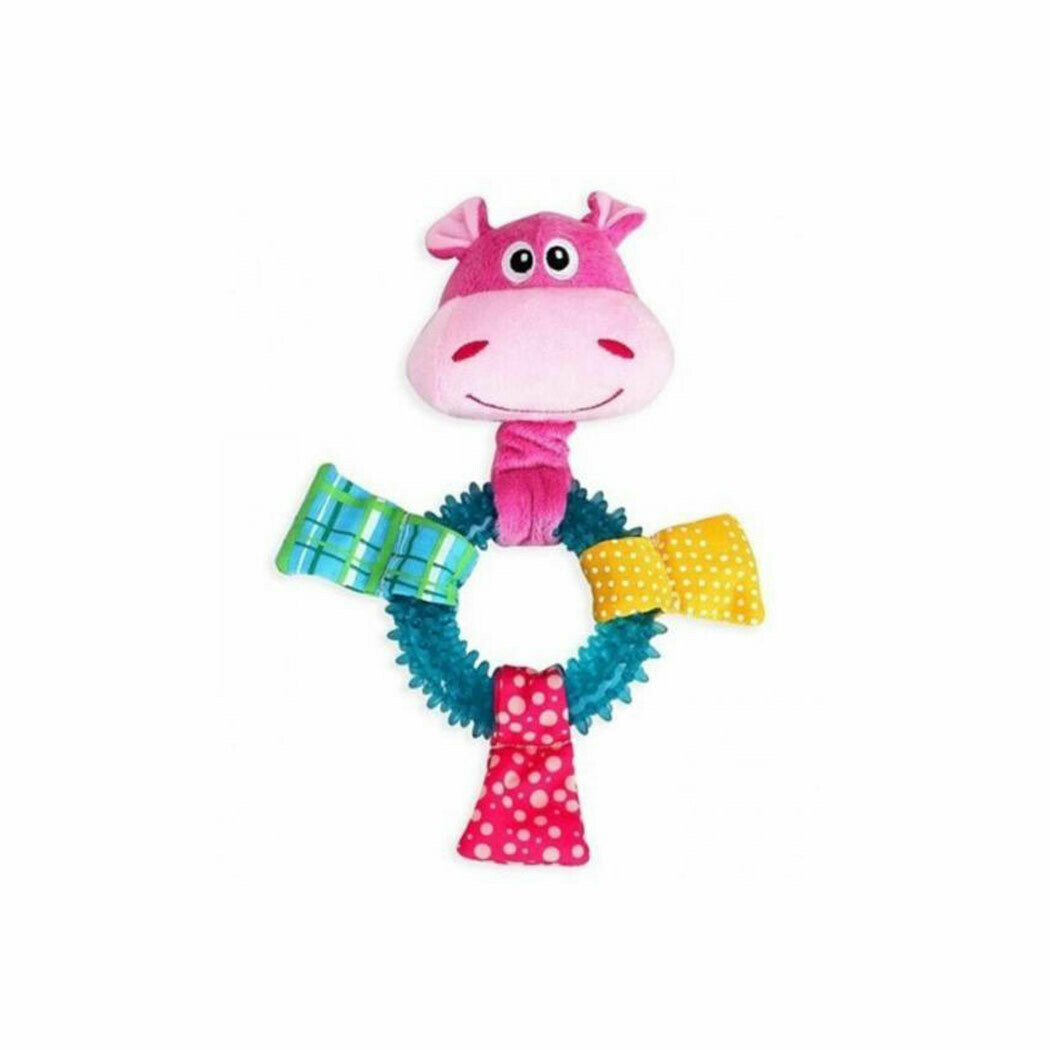 Pawise puppy toy hippo