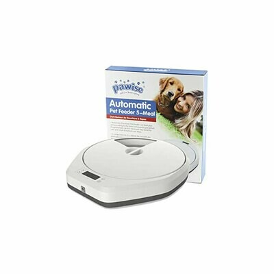 Pawise automatic pet feeder (5 meals)