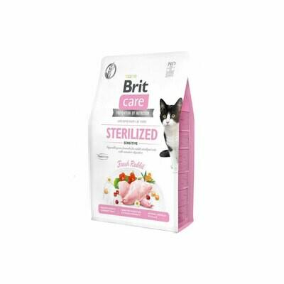 Brit care cat sterilized & sensitive fresh duck 2kgs