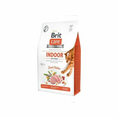 Brit care cat indoor anti-stress fresh chicken 2kgs