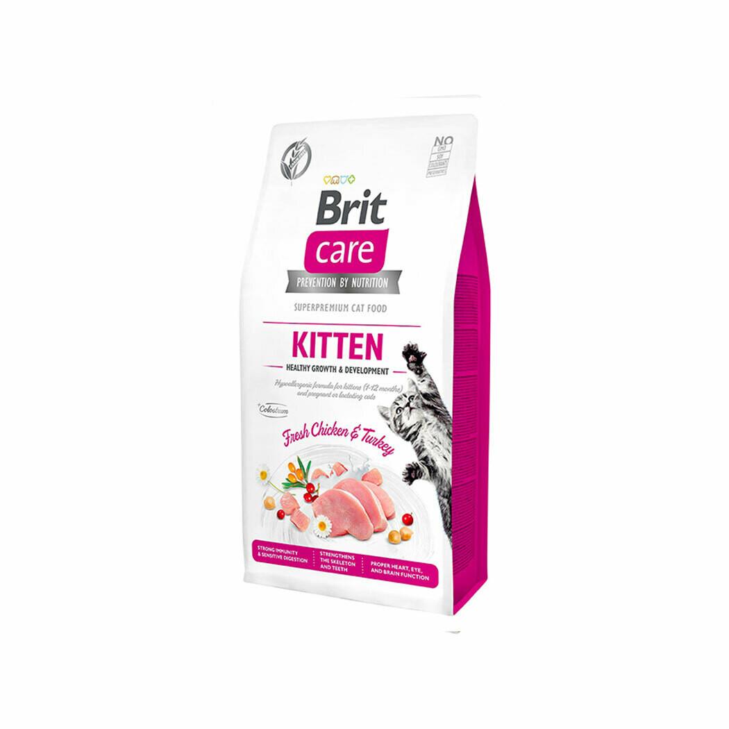 Brit care kitten healthy growth & development fresh chicken & turkey 2kgs