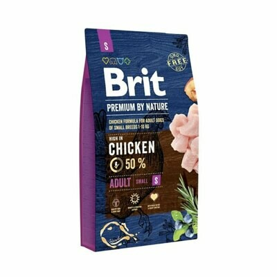 Brit small adult dogs (1-10kg) with 50% chicken 8kgs