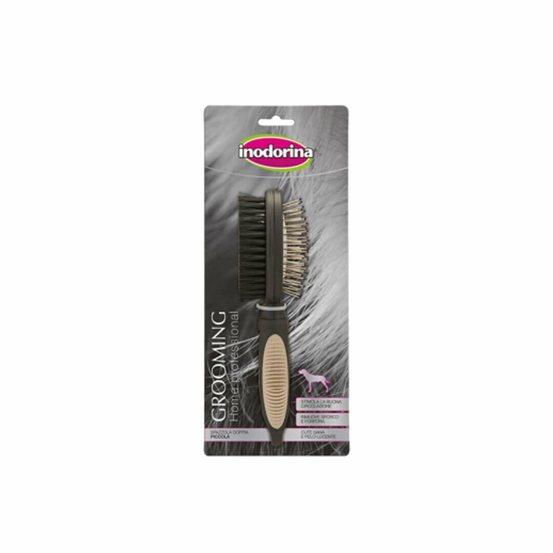 Inodorina grooming double brush medium