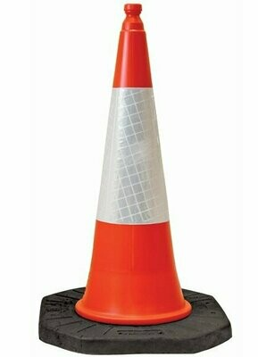 Traffic Cone 1m High Pack of 4