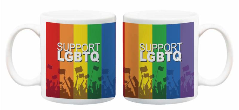 Support LGBTQ Mug