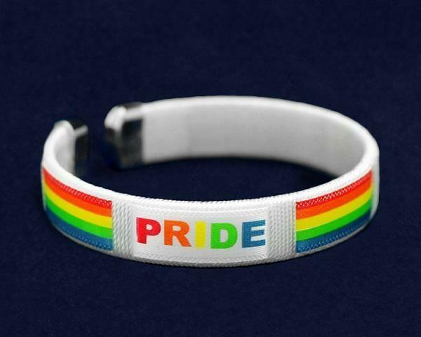 Rainbow PRIDE Bangle Bracelets