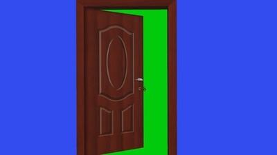 Green Screen Door ( Free)
