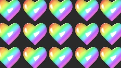 4 pack of backgrounds (Heart, Star, ice cream, cherry)