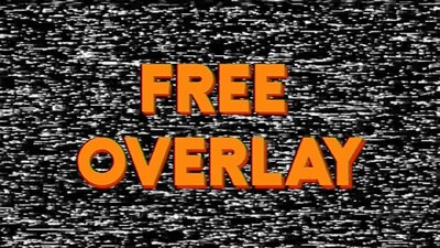 FREE Static Overlay
