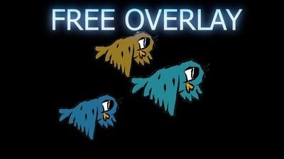 Free Cartoon Bird Overlay