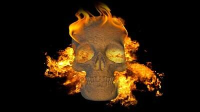 Free Fire Skull Asset
