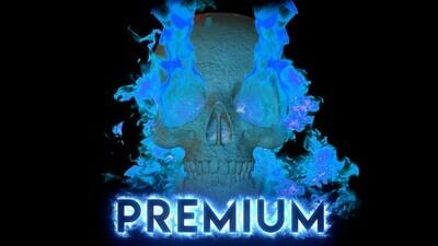 Premium Fire Skulls + Extras