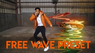 Free Wave Freeze Frame Preset