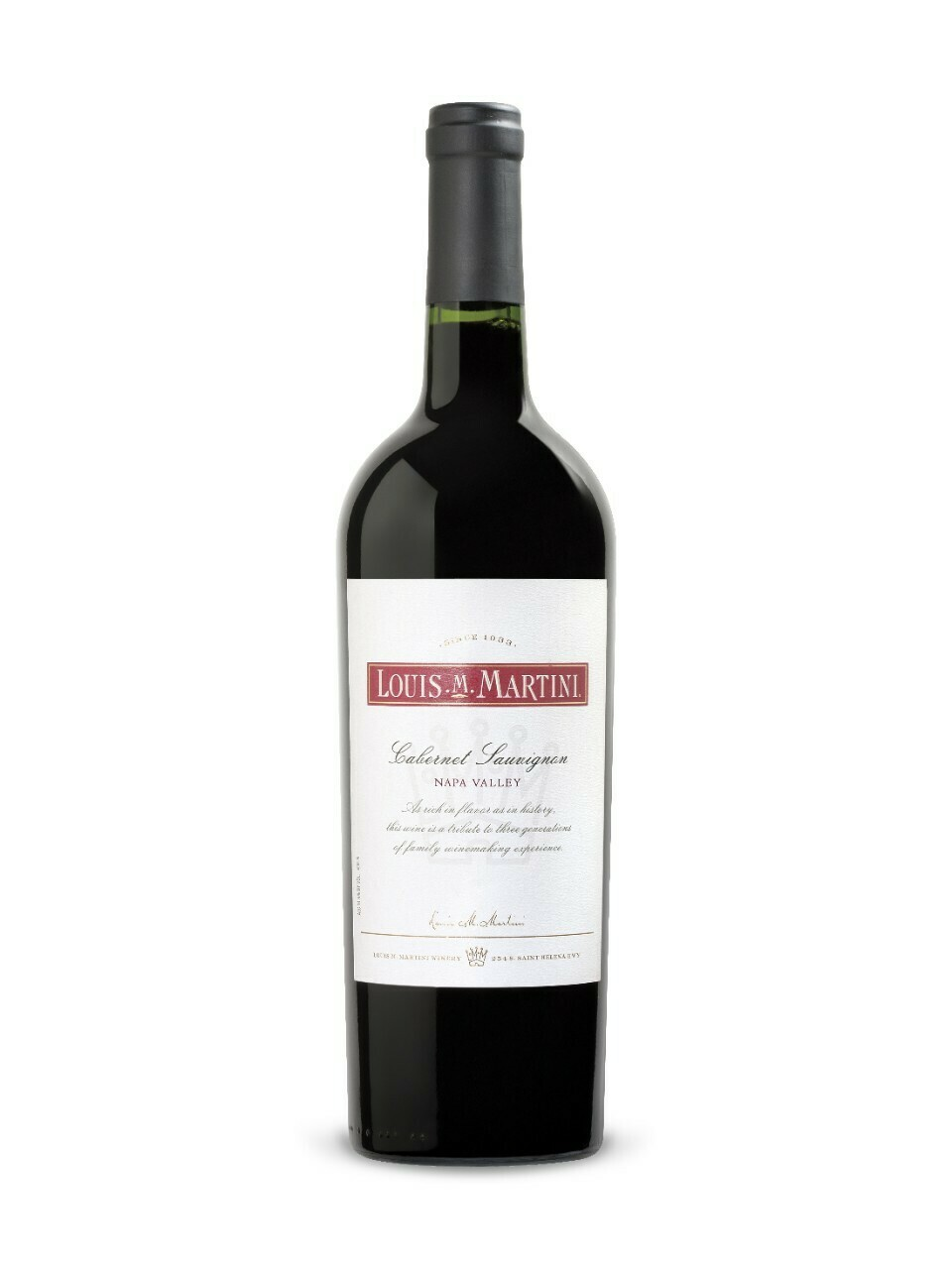 Louis Martini Napa Valley Cabernet Sauvignon