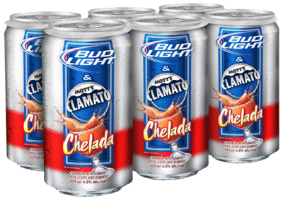Bud Light Chelada with Clamato
