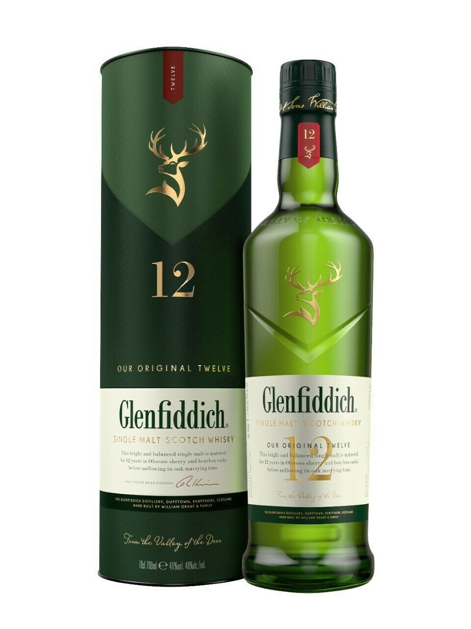 The Glenfiddich 12 Year Old Single Malt Scotch Whisky