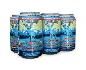 Phillips Blue Buck Ale Cans
