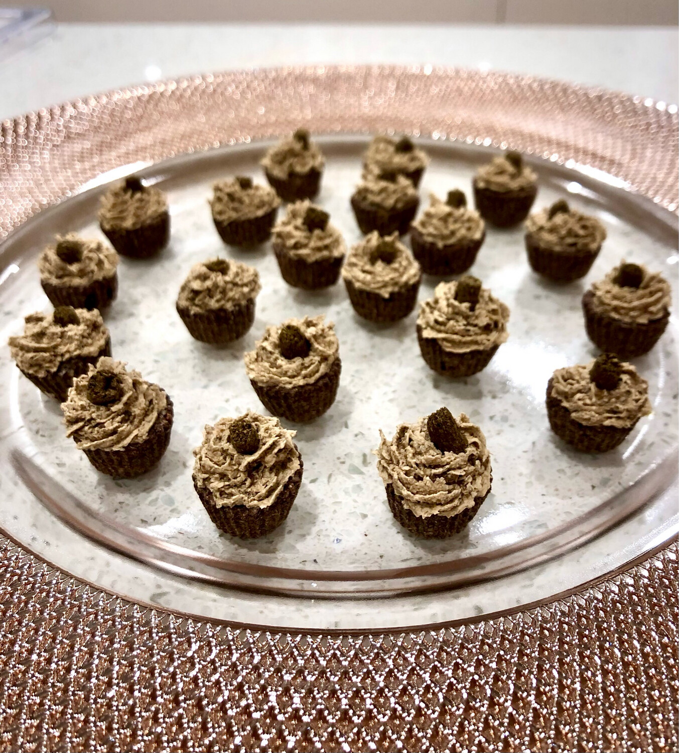 Frosted Mini Muffins