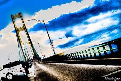 Rough Road Mackinaw Bridge