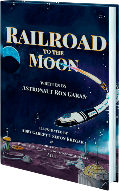 A pre-release copy of Railroad to the Moon - scheduled for release Summer 2021.
