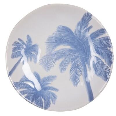 Assiettes à dessert Hawaï bleu