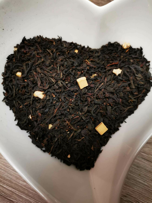 Thé noir Caramel avec Croquants 100g