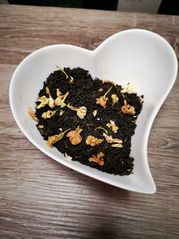Thé noir Earl Grey Fleurs Blanches 100g