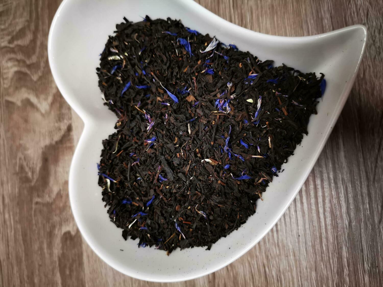 Thé noir Earl Grey Fleurs Bleues 100g