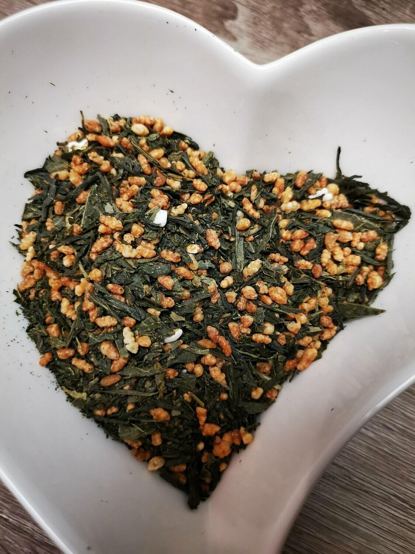 Thé vert Japonais Genmaïcha 100g
