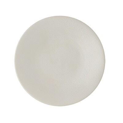 6 Assiettes Vesuvio blanc à dessert 20.5 cm