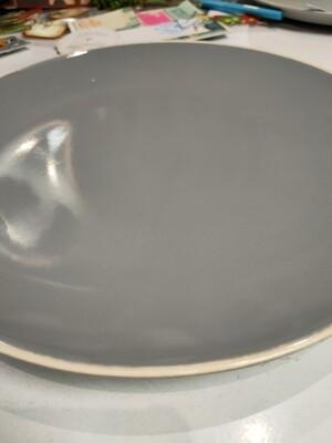 6 Assiettes plates Alpha