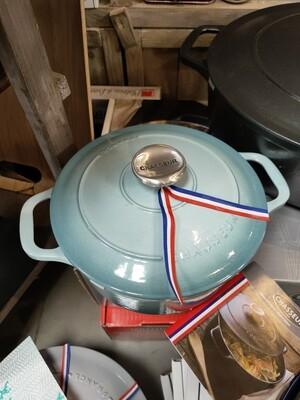Cocotte Le Chasseur bleu 20cm