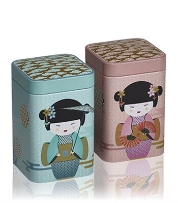 Boîte à thé 100g New Little Geisha Rose