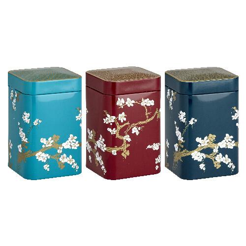 Boîte à thé 100g Japan (3 décors)