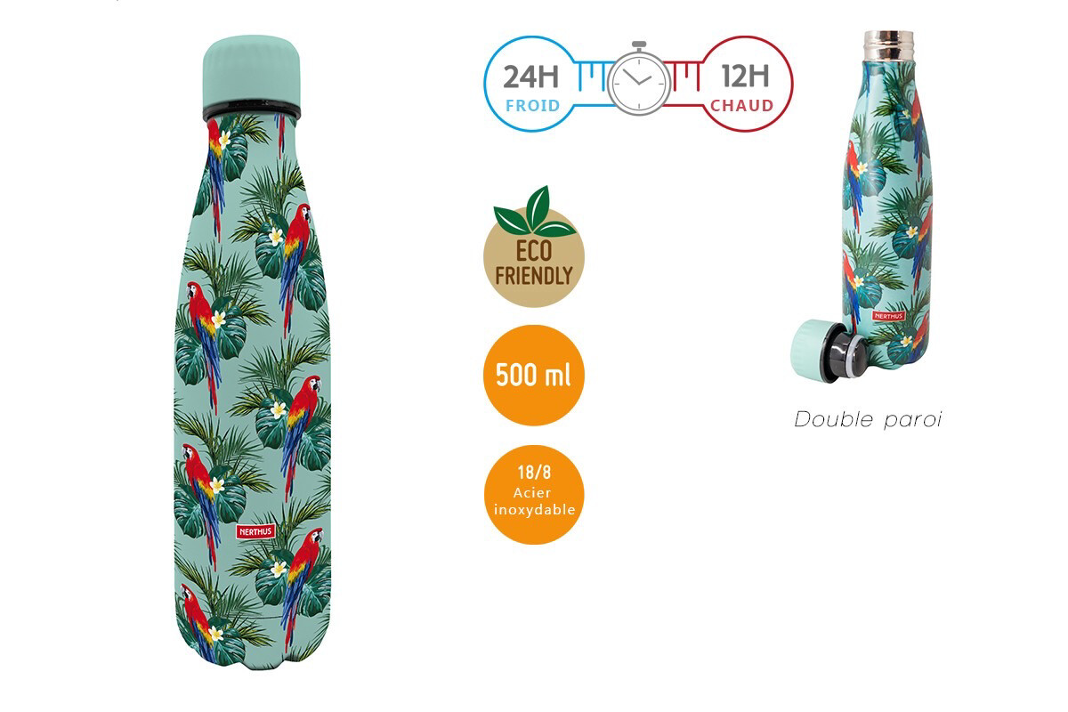 Bouteille Perroquets 500ml