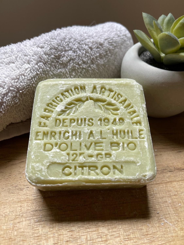 Savon bio Citron 125g