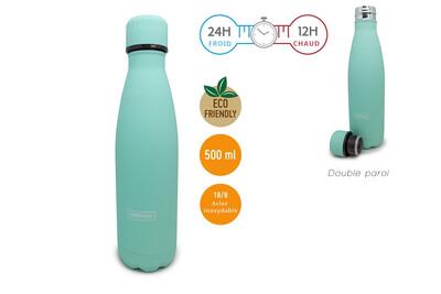 Bouteille Bleu Turquoise 500ml