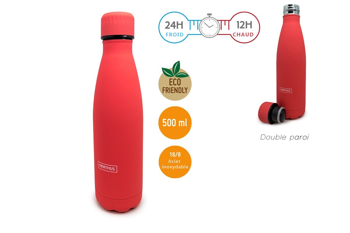 Bouteille Corail 500ml