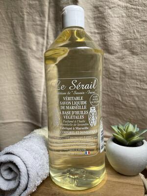 Savon blanc liquide au lavandin 1L