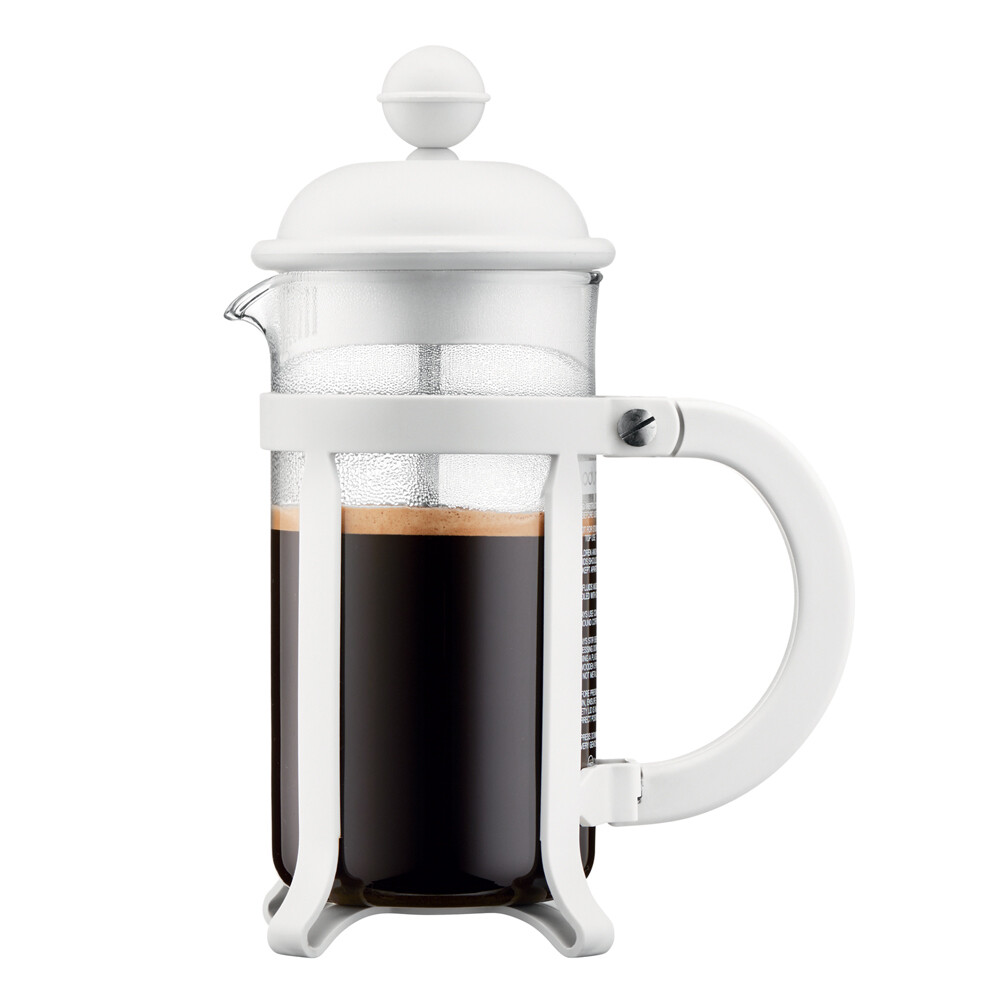 Cafetière à piston 3 tasses 7,50 x 13,50 x 18,90 cm