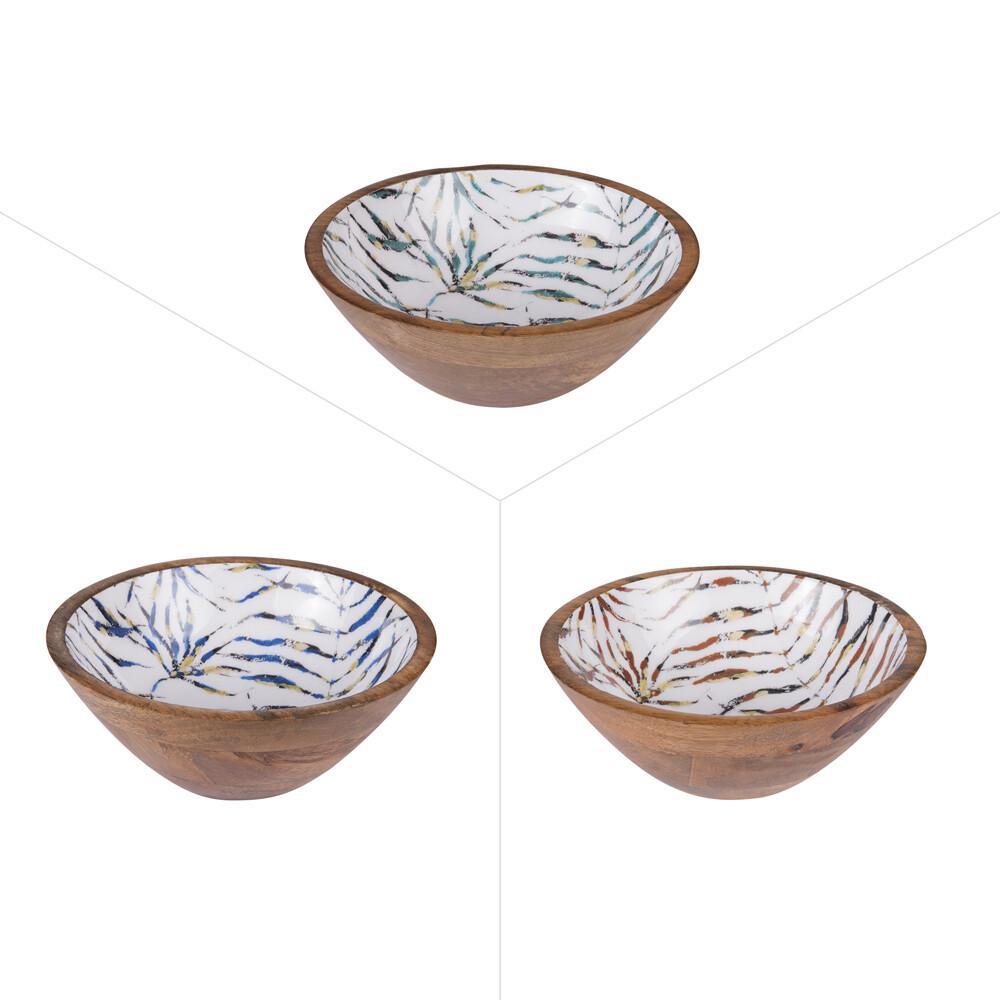 Coupelle Areca manguier laqué