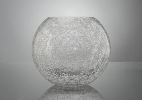 Vase boule craquèle d20 TR