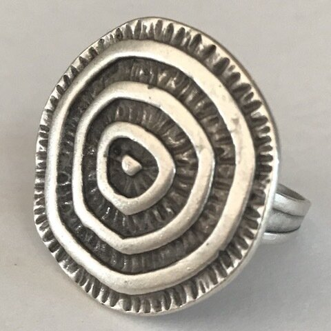 OTR-3597 - Silver Plated Ring