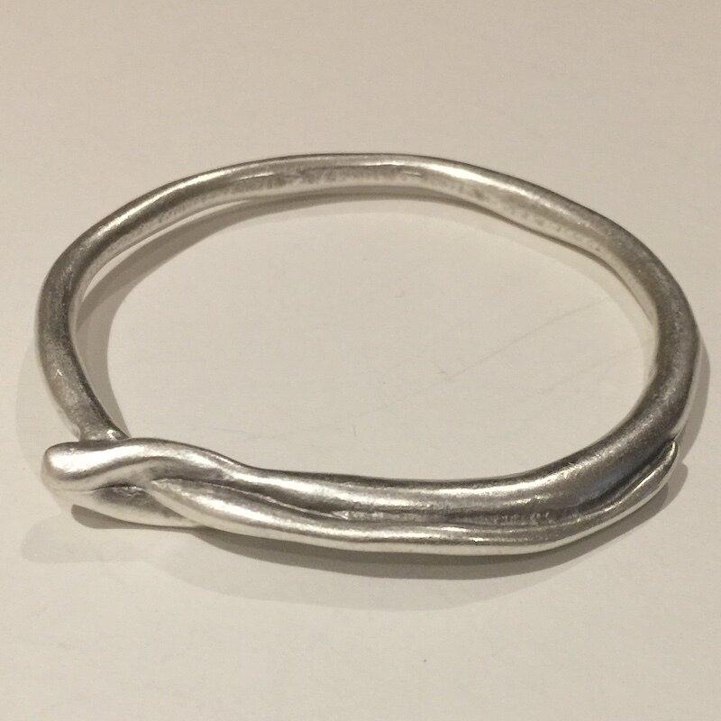 OTB-4384 - Silver plated bracelet
