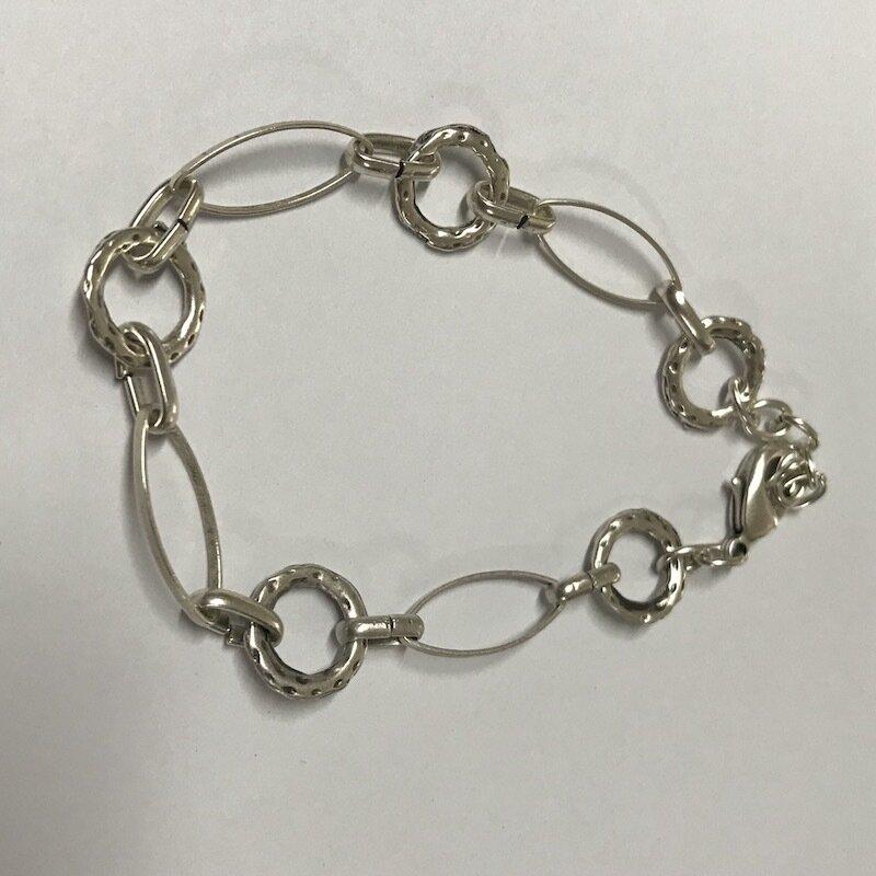 BB-806 Silver plated bracelet