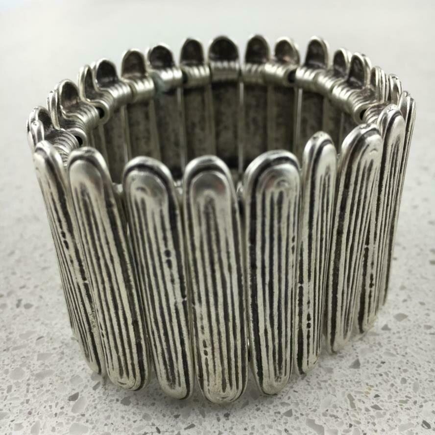 OTS-164 - Silver Plated Bracelet