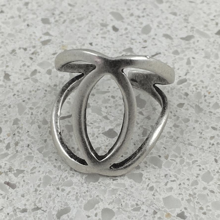 R122 - Silver Plated Ring