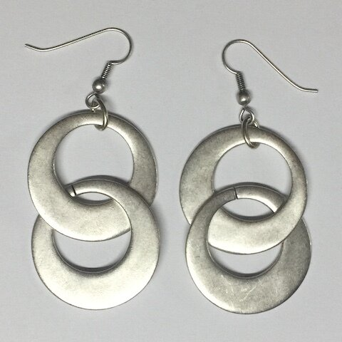 OTE-4545 - Silver Plated Earring