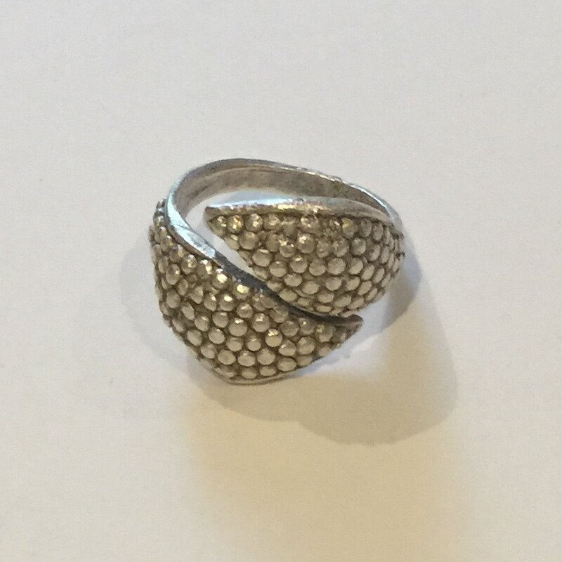OTR-05 - Silver plated ring