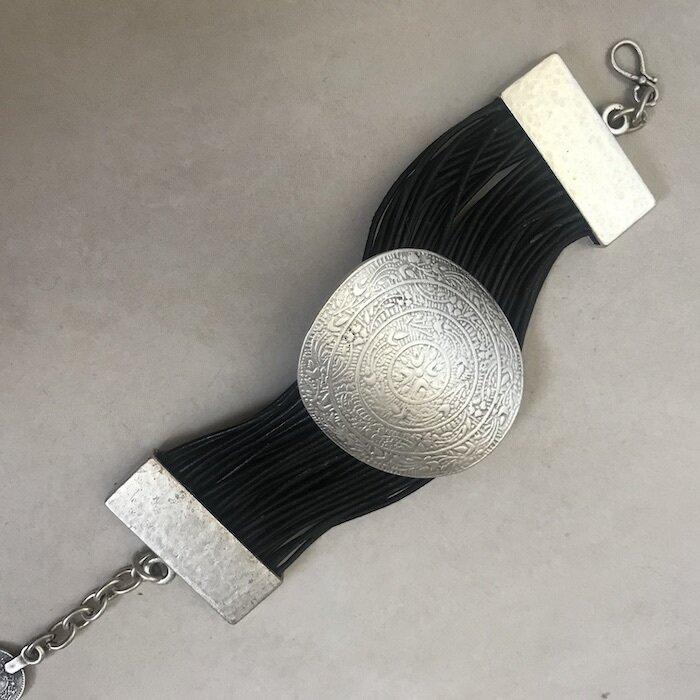 OTB-3043 Silver plated bracelet